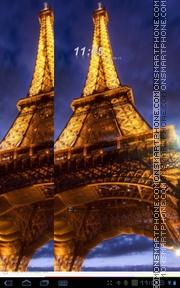Eifel Tower theme screenshot