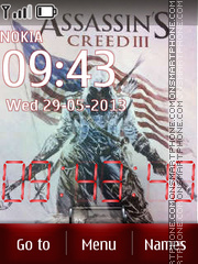 Assassins creed 3 theme screenshot