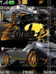Zonda tema screenshot