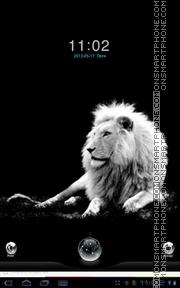 White Lion 04 theme screenshot