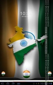 Скриншот темы India 01