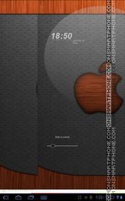 Apple Wood theme screenshot