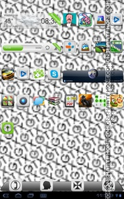 GTX theme screenshot