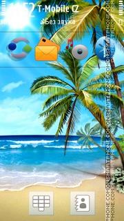 Beach 39 es el tema de pantalla