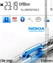 Nokia 2017 theme screenshot