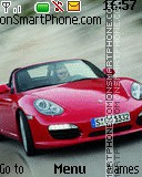 Porsche Boxster theme screenshot