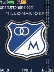 Millonarios FC 01 theme screenshot