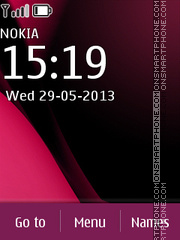Nokia C2 03 Dark theme screenshot