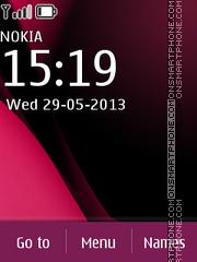 Скриншот темы Nokia C2 03 Dark