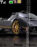 Pagani Zonda R theme screenshot