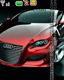 Red Audi theme screenshot