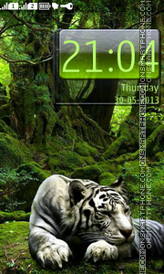 White Tiger theme screenshot
