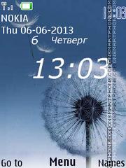 Dandelions for Nokia theme screenshot