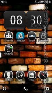 BRICKS theme screenshot