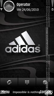 Adidas theme screenshot