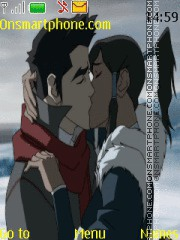 Avatar Legend Of Korra theme screenshot