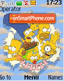 Totally Simpsons es el tema de pantalla