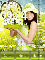 Camomile Summer theme screenshot