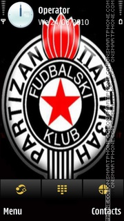 Partizan theme screenshot