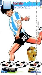 Maradona es el tema de pantalla