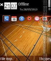 Basketball 2014 theme screenshot