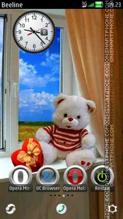 Teddy Bear theme screenshot