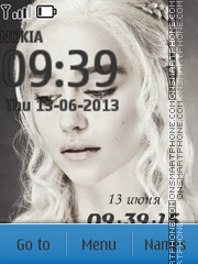 Daenerys Targaryen theme screenshot