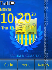 Metalist Kharkov theme screenshot