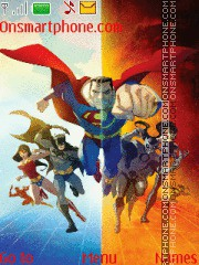 Justice League theme screenshot