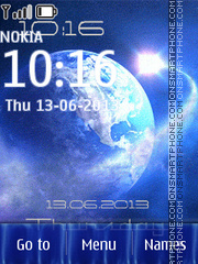 Globe tema screenshot