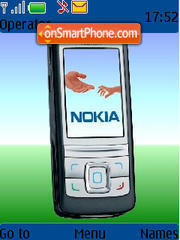 Nokia 04 theme screenshot