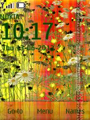 Summer Meadow tema screenshot