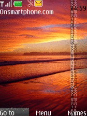 Orange Sea 01 es el tema de pantalla