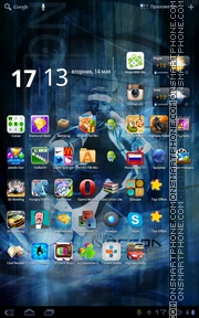 Allen Iverson 01 theme screenshot