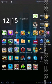 Droid Bee Loading theme screenshot