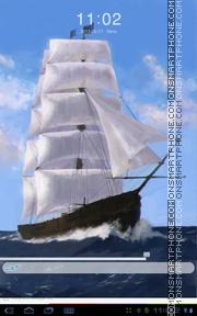 Скриншот темы Sea Ship