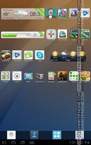 Clean 01 tema screenshot