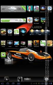 Скриншот темы F1 Mclaren