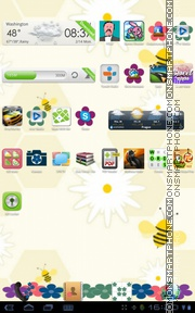 Flower 05 tema screenshot