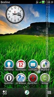 Grass Green theme screenshot