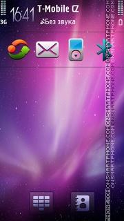 Скриншот темы Theme Aurora
