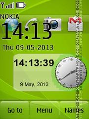Green Nokia Ultimate es el tema de pantalla