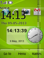 Green Nokia Ultimate theme screenshot