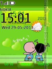 Cartoon Kids theme screenshot