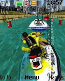 3d Jetski theme screenshot
