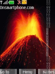 Volcanic Eruptions theme screenshot