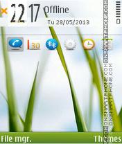 Скриншот темы Greenstyle