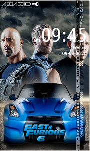 Fast and Furious 6 01 theme screenshot