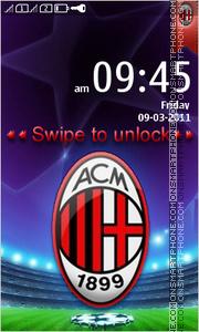 AC Milan 22 theme screenshot