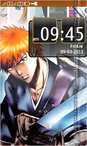 Bleach 22 theme screenshot